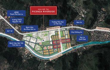 Picenza Riverside - sức hấp dẫn hạ tầng đồng bộ