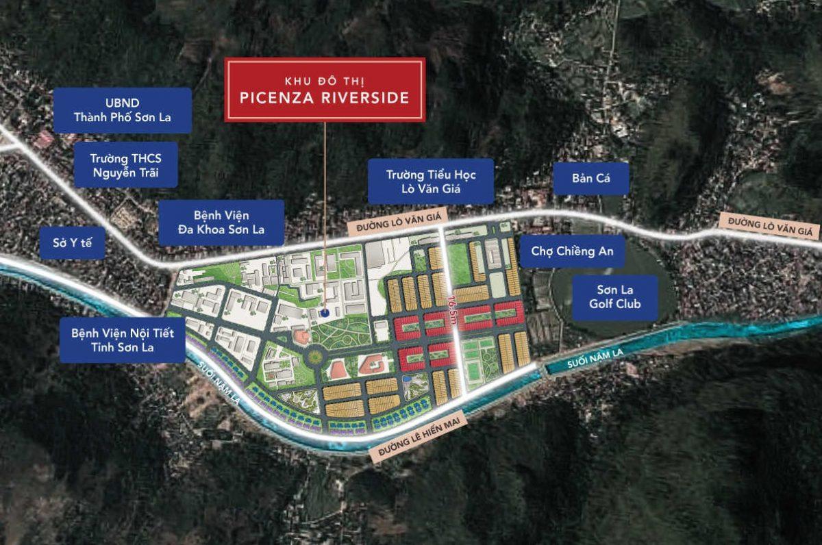 Picenza Riverside – sức hấp dẫn hạ tầng đồng bộ