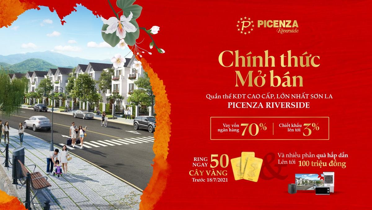 Picenza Riverside chính thức mở bán với hàng loạt những ưu đãi và phần quà hấp dẫn