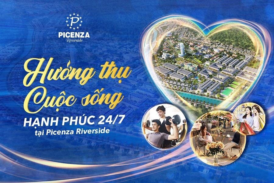 Hưởng thụ cuộc sống hạnh phúc tại Picenza Riverside